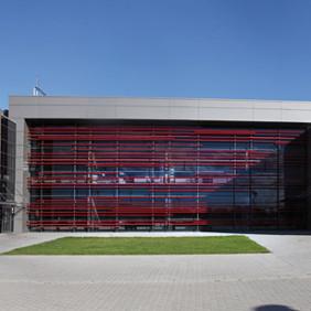 Budynek biurowo - socjalny i hala Meta-Zel 2