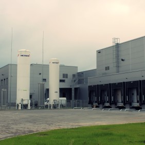 Budynki zakładu produkcyjnego