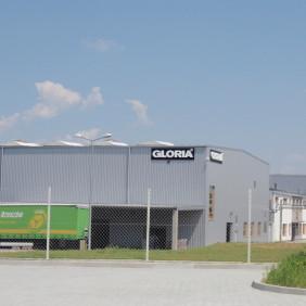 Budynek zakładu produkcyjnego Gloria 2