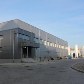 Siedziba zakładu produkcyjnego  NIKPOL