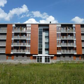 Bloki mieszkalne w Krakowie