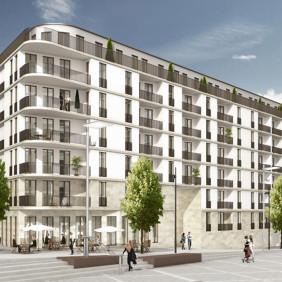 Budynek biurowo-mieszkalny Niemcy