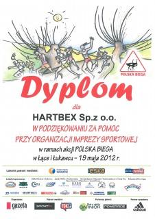 Sponsoring akcji Polska Biega