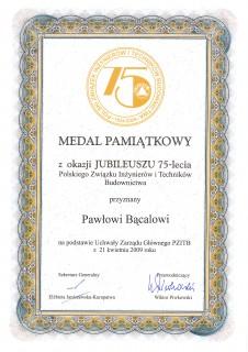 Medal Związku Inżynierów i Techników Budownictwa