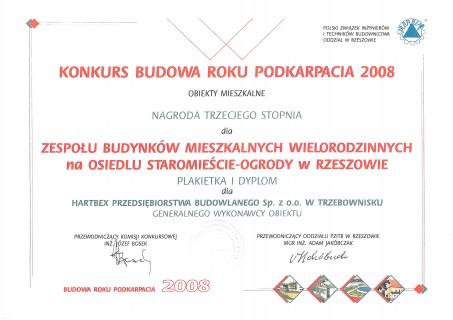Budowa Roku Podkarpacia 2008