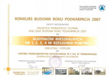 Budowa Roku - budynki mieszkalne