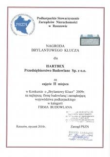 II nagroda na najlepszą firmę budowlaną