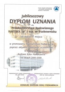 Promowanie budownictwa Podkarpacia
