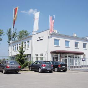Budynek zakładu produkcyjnego Gloria